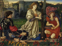 Edward Coley Burne-Jones The Love Song