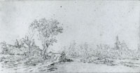 Jan van Goyen View on Leiderdorp