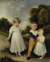 John Hoppner The Sackville Children