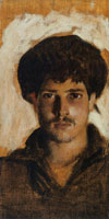 John Singer Sargent Head of a Young Man