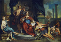 Nicolaas Verkolje Allegory of the Amsterdam chamber of the Dutch East India Company (VOC)