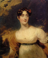 Thomas Lawrence - Lady Emily Harriet Wellesley-Pole, later Lady Raglan