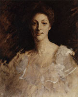 William Merritt Chase Portrait Sketch