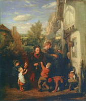 William Mulready Returning from the Ale-house