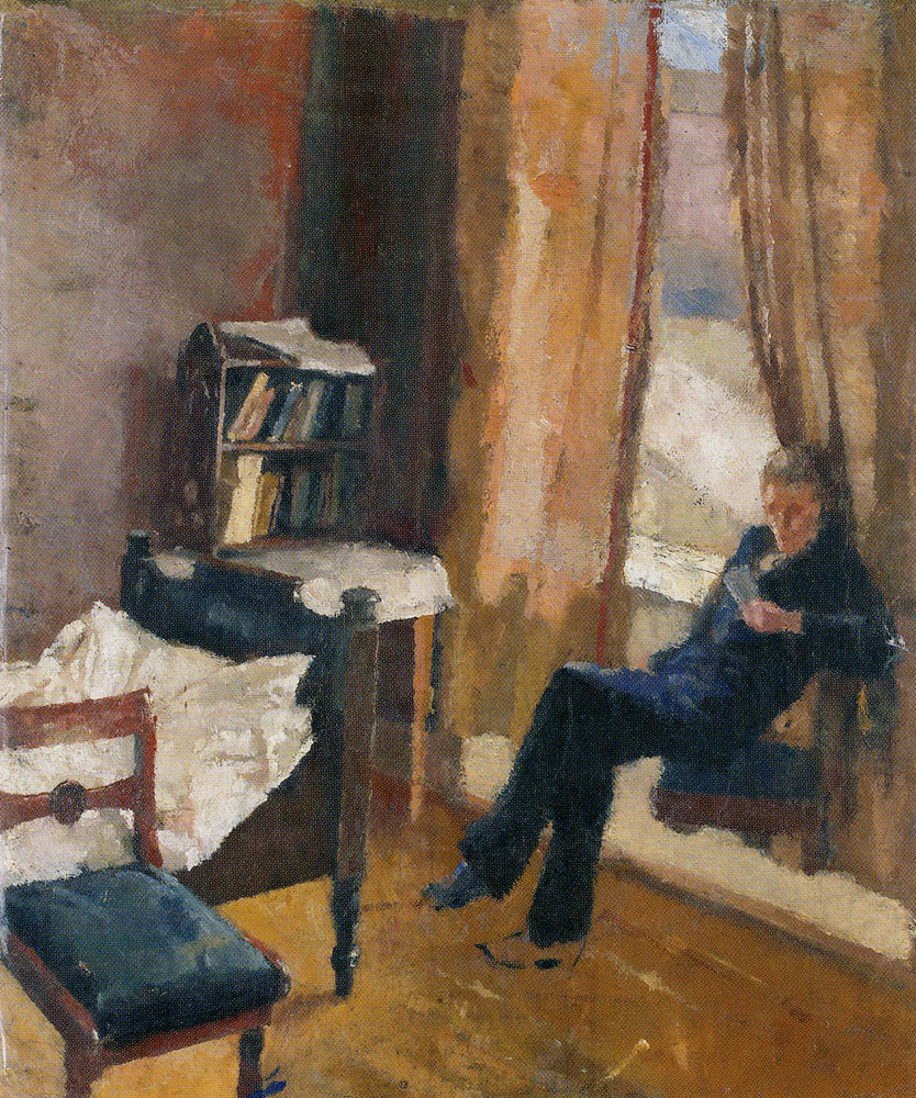 Edvard Munch - Andreas Reading