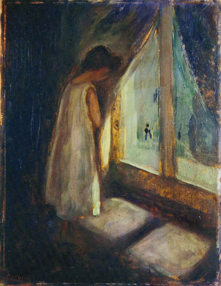 Edvard Munch - The Girl by the Window