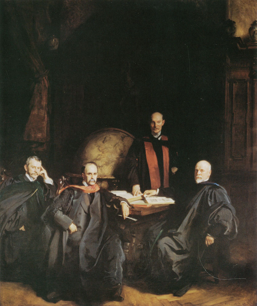 John Singer Sargent - Professors Welch, Halsted, Osler and Kelly or The Four Doctors