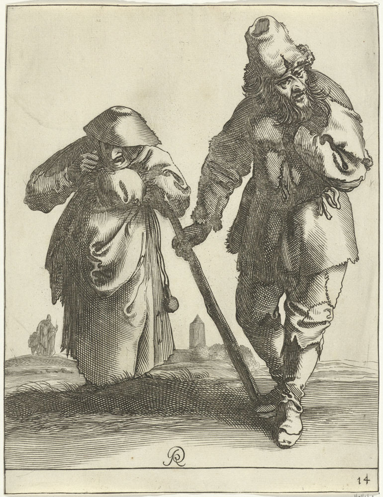 Pieter Quast - Beggars and Peasants: 14