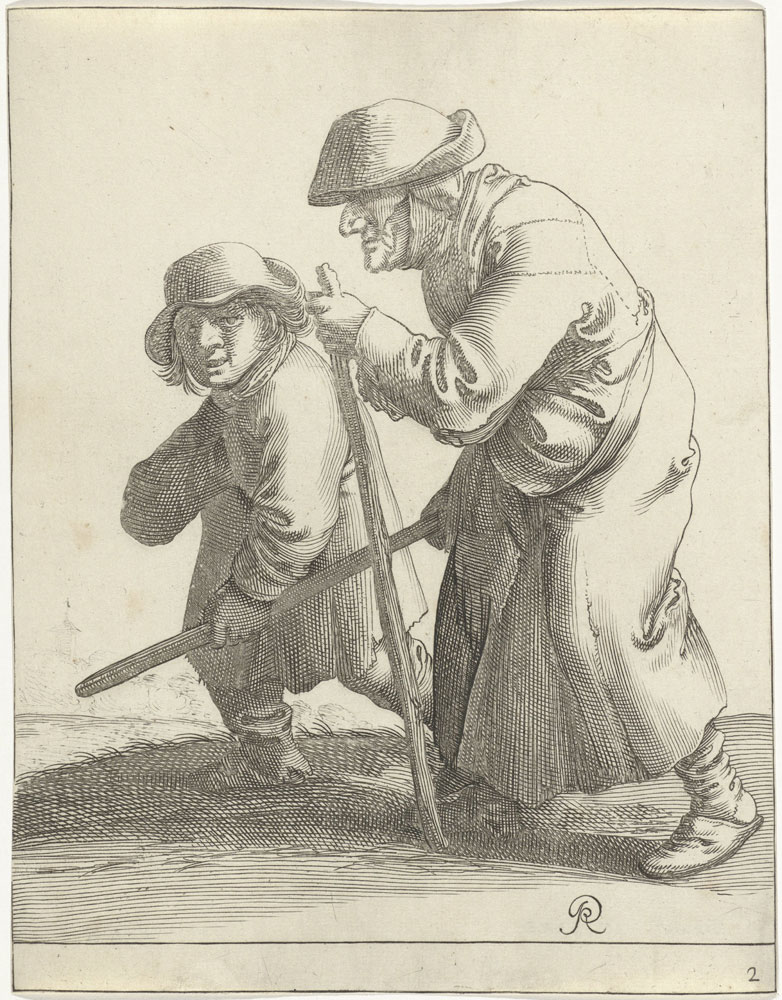 Pieter Quast - Beggars and Peasants: 2
