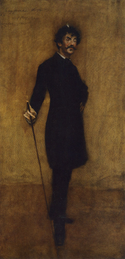 William Merritt Chase - Portrait of James McNeill Whistler