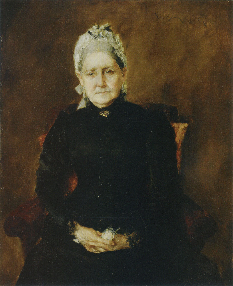 William Merritt Chase - Portrait of My Mother