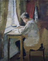 Edvard Munch Andreas by the Window