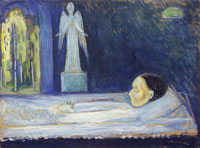 Edvard Munch The Angel of Death