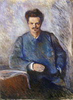 Edvard Munch August Strindberg