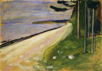 Edvard Munch Beach in Åsgårdstrand