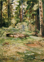 Edvard Munch Summer Day in the Forest