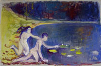 Edvard Munch The Water Lillies