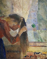 Edvard Munch Woman Combing Her Hair