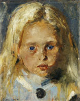 Edvard Munch Young Blond Girl
