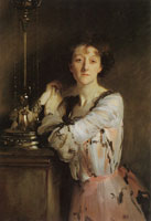 John Singer Sargent The Honourable Mrs Charles Russell
