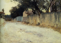 John Singer Sargent A Road in the South
