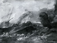 Leonaert Bramer Shipwreck on a Rocky Coast