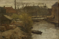 Matthijs Maris Noord-West-Buitensingel in The Hague