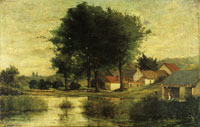 Paul Gauguin Farm and Pond