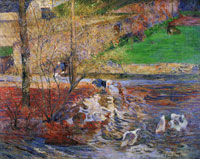 Paul Gauguin Goose Games