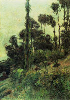 Paul Gauguin Hillside