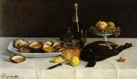 Paul Gauguin Still Life with Oysters