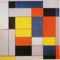 Piet Mondrian No. VI / Composition No. II