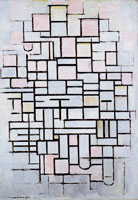 Piet Mondrian Composition No. IV