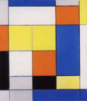 Piet Mondrian - Composition B