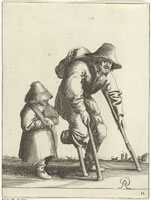 Pieter Quast - Beggars and Peasants: 11