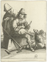 Pieter Quast - Beggars and Peasants: 12