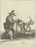 Pieter Quast - Beggars and Peasants: 17
