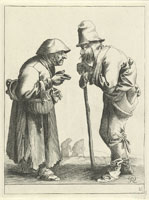 Pieter Quast - Beggars and Peasants: 21