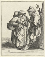 Pieter Quast - Beggars and Peasants: 9
