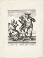 Pieter Quast - Beggars and Peasants: Title Page