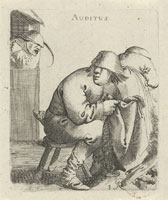 Pieter Quast - The Five Senses: Hearing (Auditus)