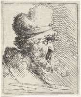 Pieter Quast Head of a Man with Cap