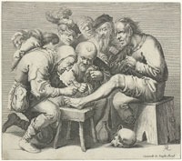 Pieter Quast A Group of Seven Men