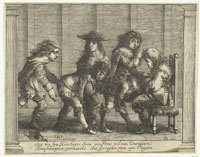 Pieter Quast Six Boys, Playing Leap-Frog