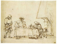 Rembrandt - The Parable of the Talents