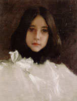 William Merritt Chase Head of a Girl (The Artist's Daughter)