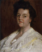 William Merritt Chase - Portrait of a Lady (Helene Maynard White)