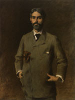 William Merritt Chase Portrait of Jules Turcas