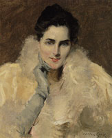 William Merritt Chase Portrait of a Lady