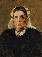 William Merritt Chase Woman of Holland
